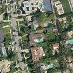 Lalo Schifrin's House (Yahoo Maps)