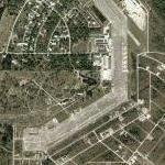 Remains of Buckingham Air Force Base (Yahoo Maps)