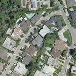 Daphne Zuniga's House (former) (Yahoo Maps)