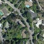 Tony Franciosa's House (former) (Yahoo Maps)