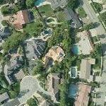 Sergio Mendes' House (Yahoo Maps)