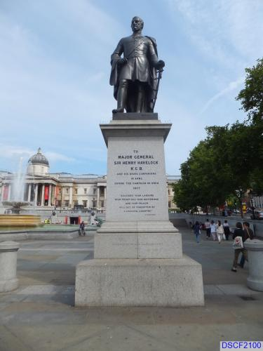 Statue of Sir Henry Havelock