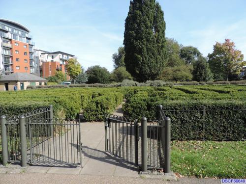 Maze in Coronation Gardens