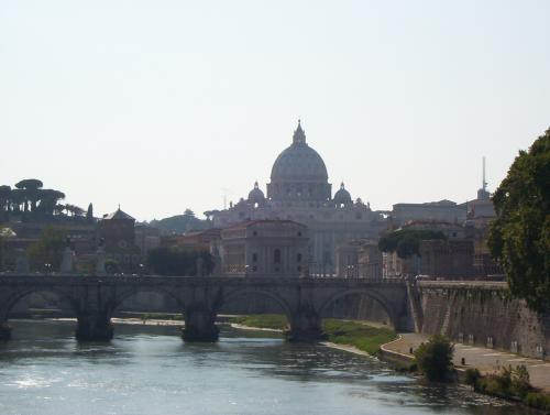 Basilica from bridge