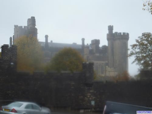 Arundel Castle... as seen on a rainy day!