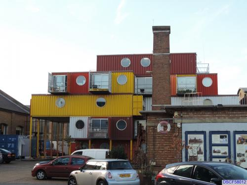 'Container City' by Urban Space Management