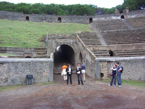 Entrance gate of Coliseum
