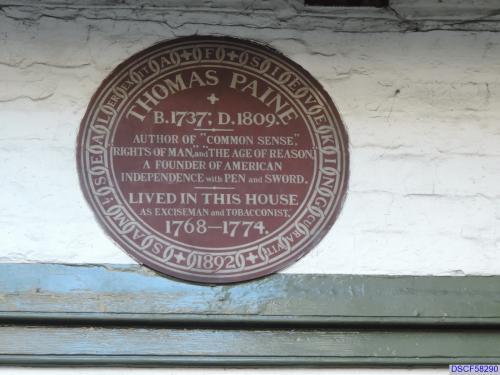 Thomas Paine's House