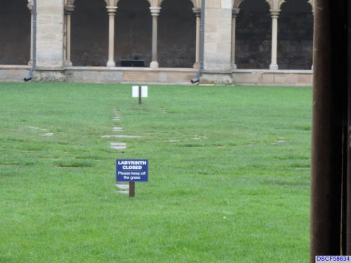 Norwich Cathedral labyrinth