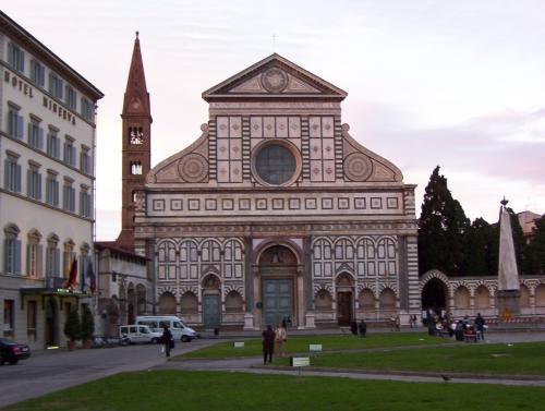 Santa Maria Novelle facade