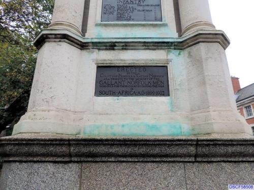 Norwich Boer War Memorial