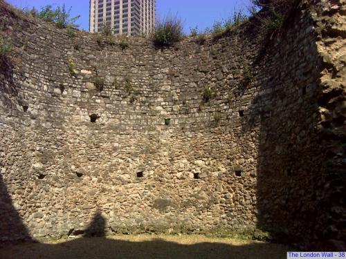 Ruins of Roman Wall