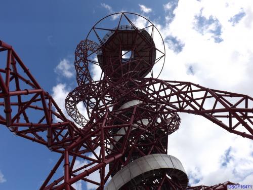 ArcelorMittal Orbit (during the London 2012 Olympics)