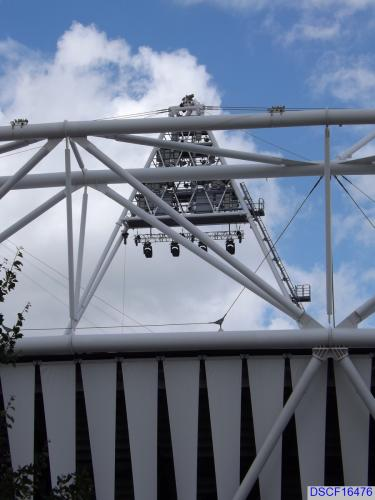 Olympic Stadium (London) during the 2012 Games