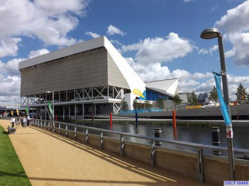 London Aquatics Centre (during the London 2012 Games)