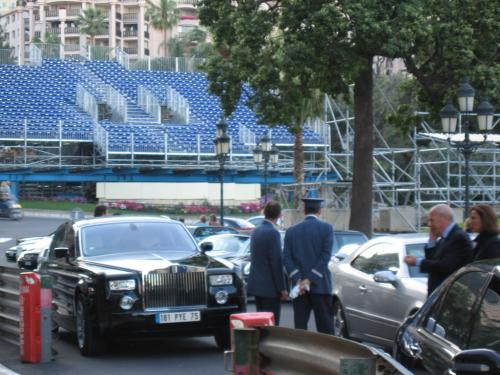 Casino cars during the Grand Prix event in '05