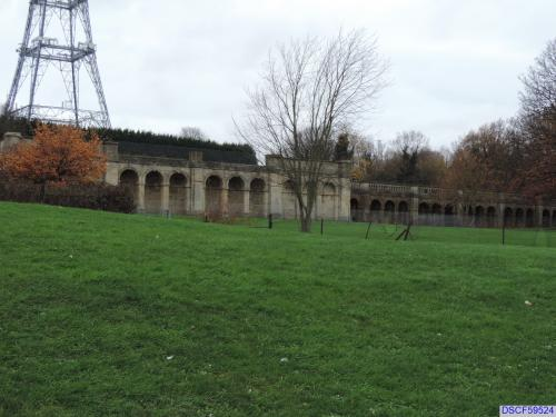 Foundations of the Crystal Palace