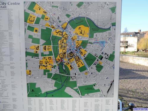 Map of Cambridge City Centre