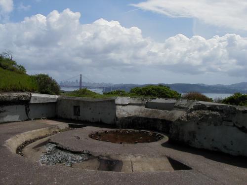 Battery Rathbone - North gun mount