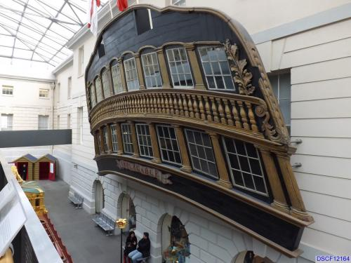 Stern of the HMS Implacable