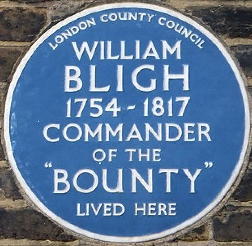 Captain William Bligh's house
