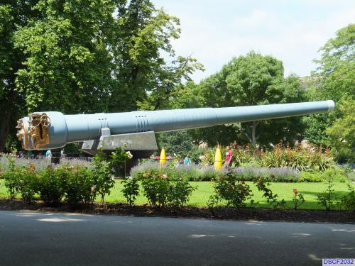 15 inch guns at the Imperial War Museum