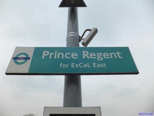 Prince Regent DLR Station