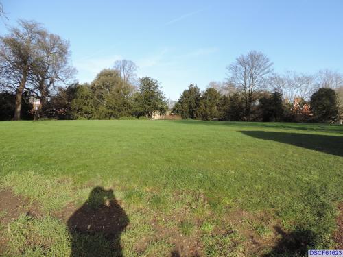Remnants of Bedford Castle