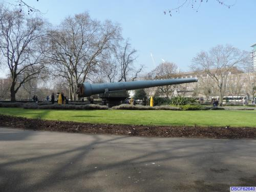 15 inch guns at Imperial War Museum