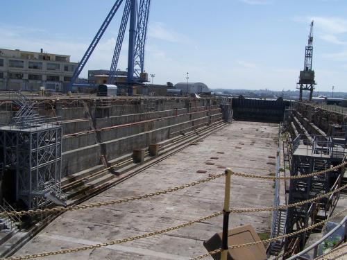Largest drydock at Mare Island