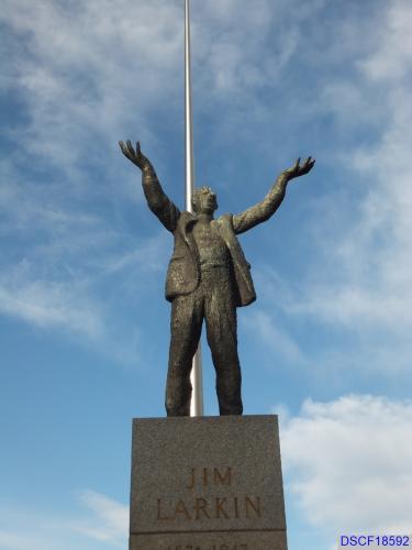 James Larkin statue