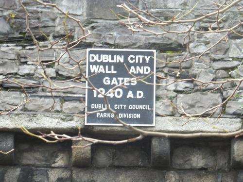 Dublin City Wall and St Audoen's Gate