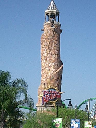 Islands of Adventure Tower