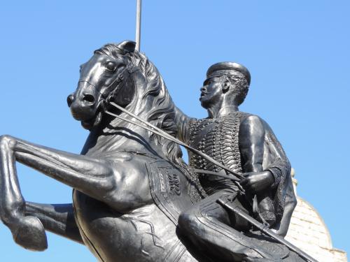 Louis Edward Nolan Statue