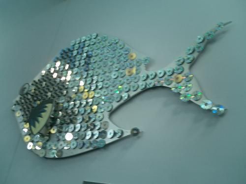 A Fish Made of CDs