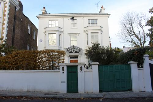 Agatha Christie's house (former)