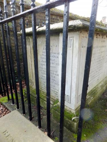 John Constable's gravesite