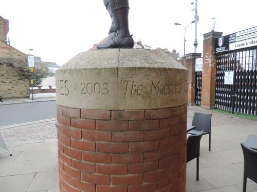 Statue of Johnny Haynes