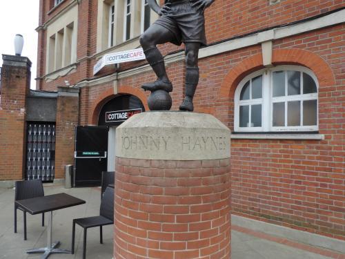 Statue of Johnny Haynes