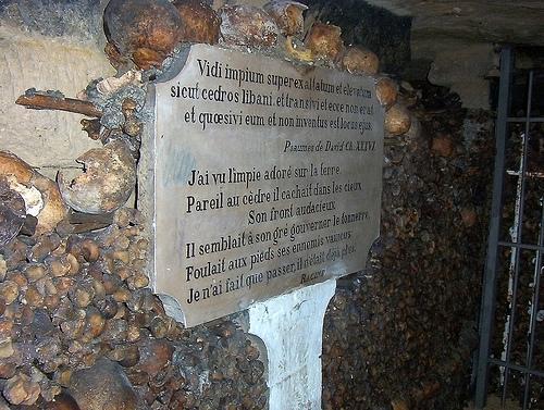 Paris Catacombs, September 2005