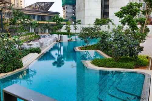 Swimming pool at Lodha Park