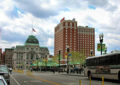 City Hall and the Biltmore Hotel