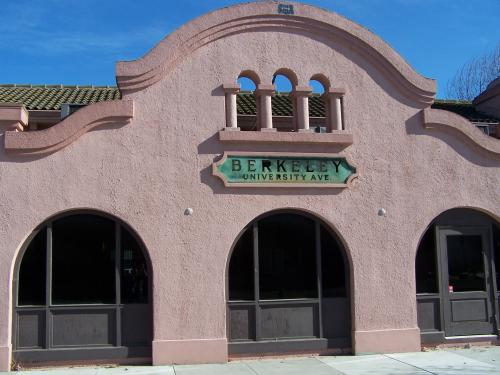 Now vacant 1913 Southern Pacific Railroad Station