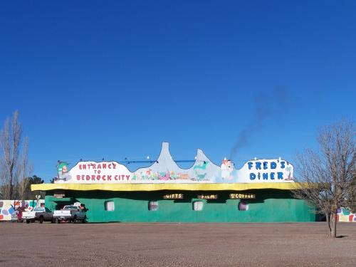 The Flintstone's Bedrock City