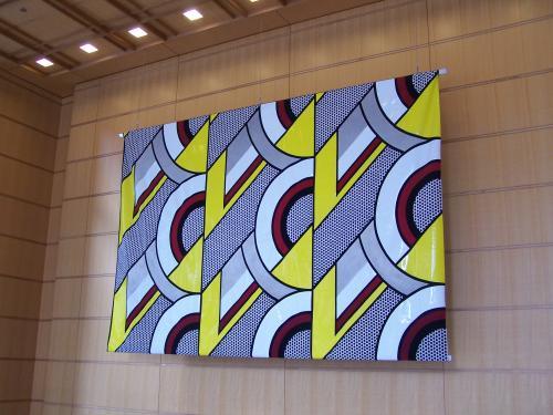 Untitled (Banner) by Roy Lichtenstein