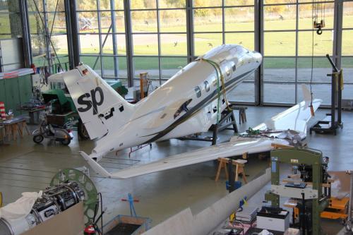 Deutsches Museum Flugwerft Schleissheim in Oberschleißheim