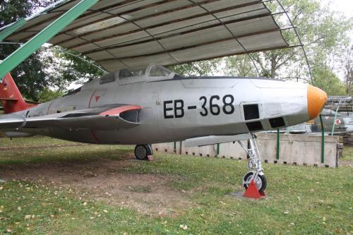 RF-84F, EB-368, ex. Luftwaffe