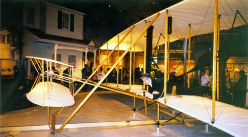1903 Wright Flyer, National Air and Space Museum, October 2003