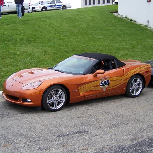 2007 Indy 500 pace car seen at the 2013 race