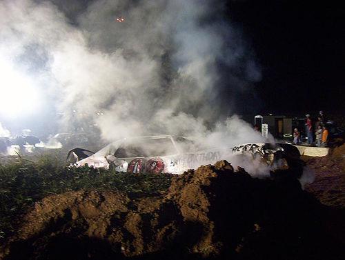 Arcadia Demolition Derby, October 2004